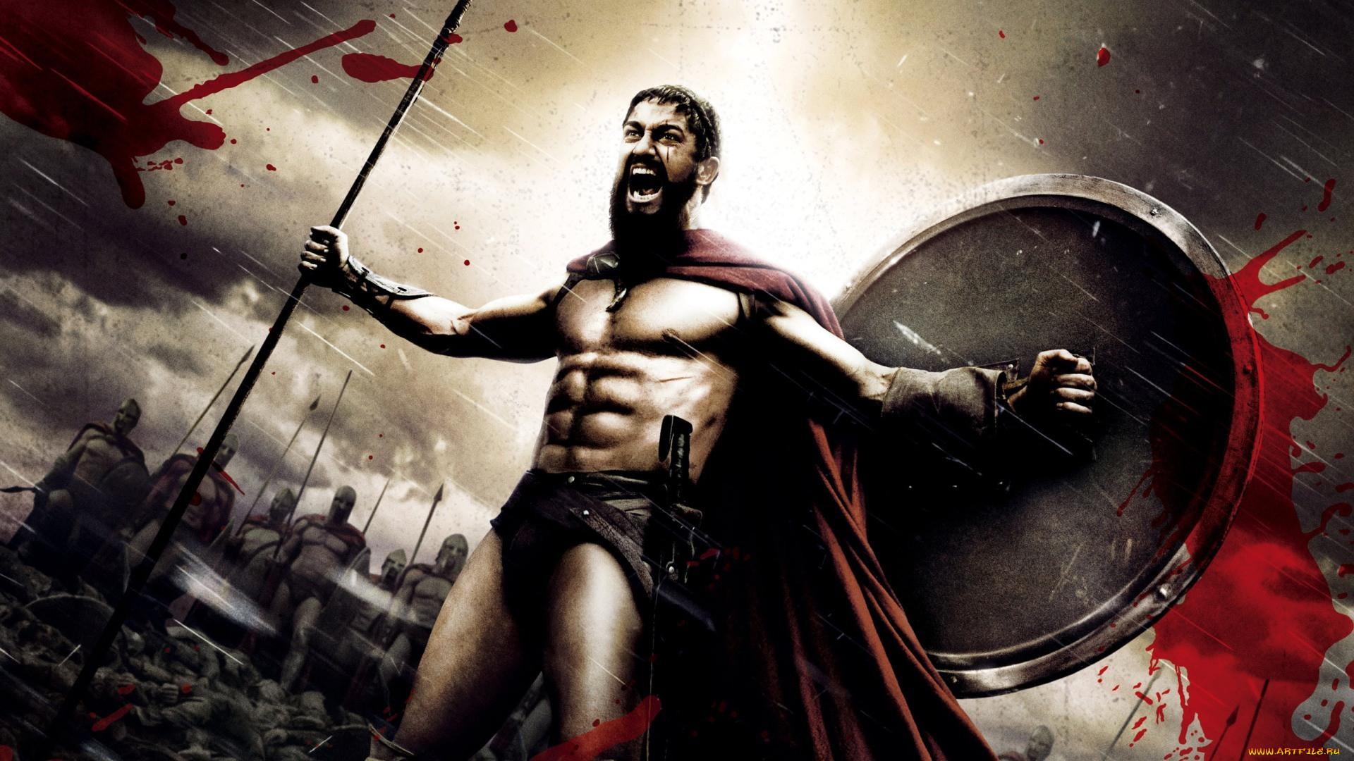 нем открытки 300 спартанцев главным